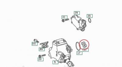 Привідна муфта F00r0p0133 Mb Sprinter/vito Cdi