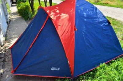 Палатка 2-х местную Coleman X-3006 (УСИЛЕННАЯ).