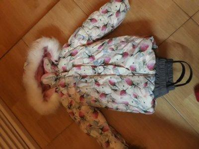 Зимний комбез+куртка Lenne