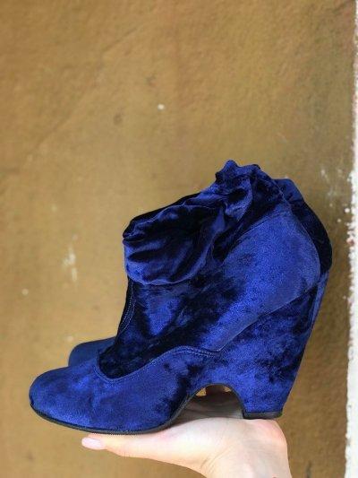Ботинки из высококачественного велюра 37р 24см