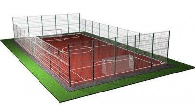 Огорожа для спортивних майданчиків