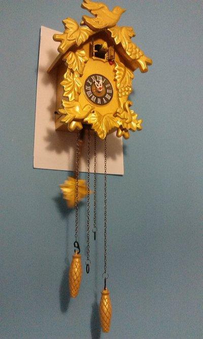 Часы с кукушкой кварцевые