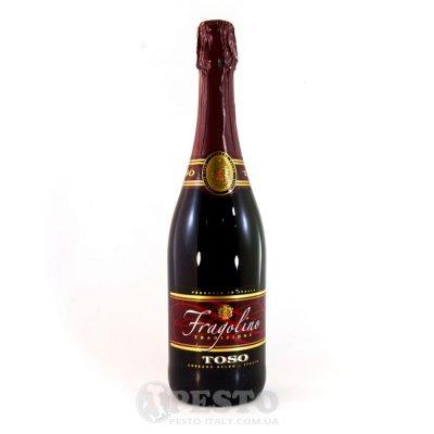 Вино Червоне Fragolino Toso 0,7л