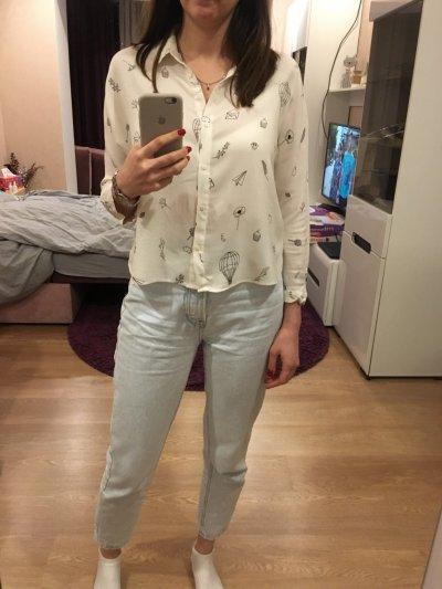 Продам рубашку Zara, р.36