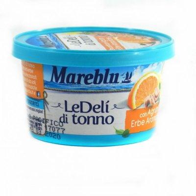Тунець Mareblu Le deli di tonno з апельсином та травами 90 г
