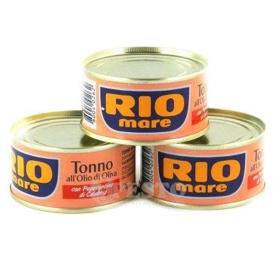 Тунець Rio mare в оливковій олії з гострим перцем 80 г