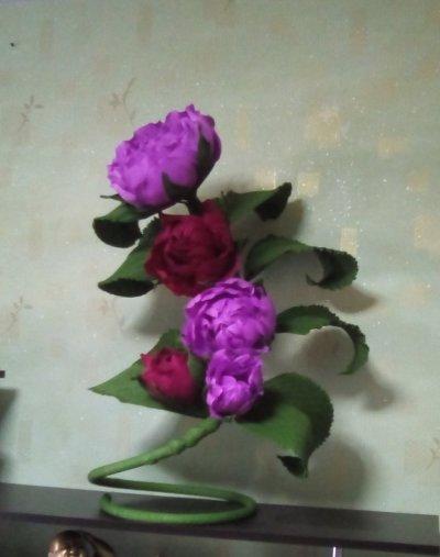 Прикроватные цветы