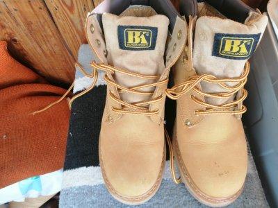 Оригинальные американские ботинки Black Knight Farmers