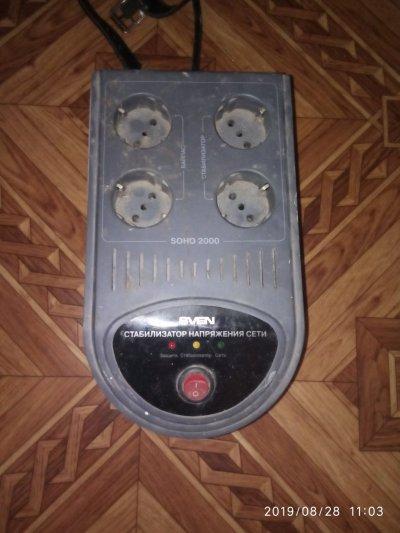 Стабилизатор напряжения sven soho 2000