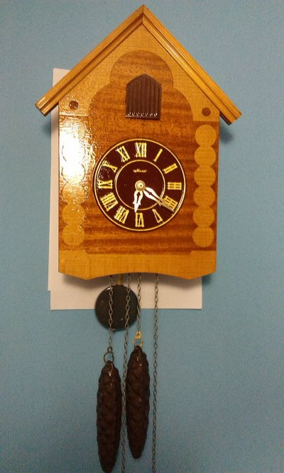 Часы с кукушкой и боем