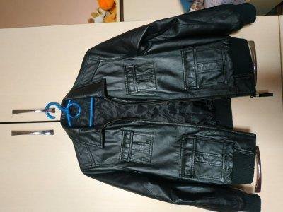 Кожаная куртка Marks& Spencer
