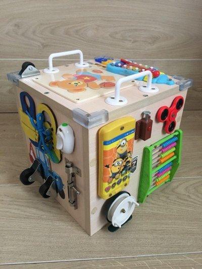 Куб для моторики ребена- БИЗИ КУБ