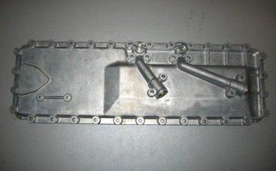 Крышка теплообменника Мерседес 814