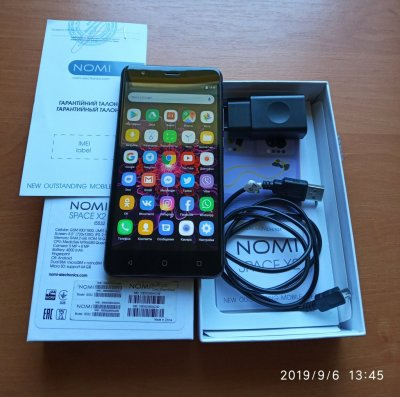 Nomi Space X2 i5532 Ram 2Gb Rom 16Gb