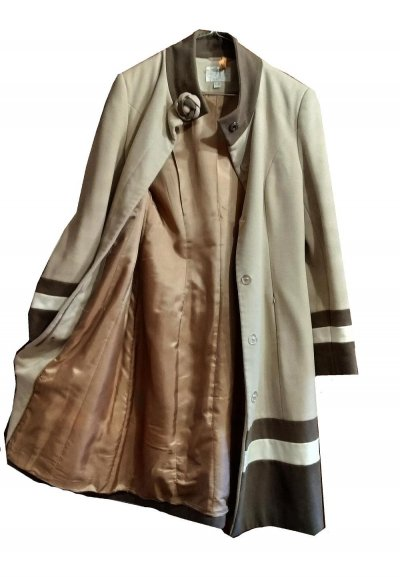 Пальто стильное женское FASHION - утепленное демисезонное, в отличном состоянии
