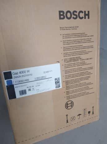 Продам новый газовый котел Bosch ZWA24-2.