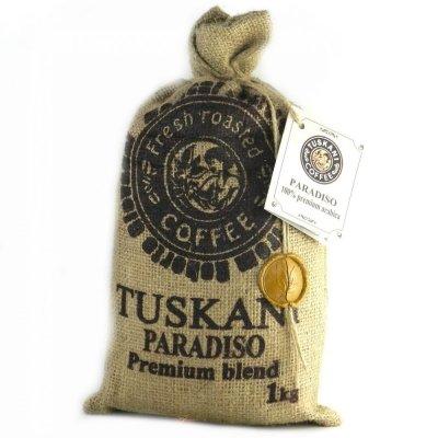 Кава в зернах Tuskani Paradiso 100% premium arabica 1 кг