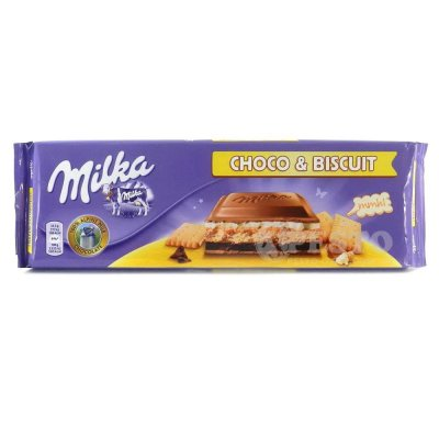 Шоколад Milka печево і шоколад 300 г
