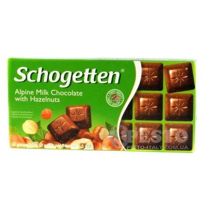 Шоколад Schogetten 18 часточок. 100 гр. Trumpf 100 г