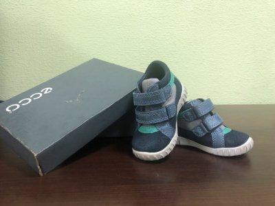 Ботиночки для мальчика Ecco
