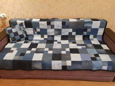 Покрывало с подушкой