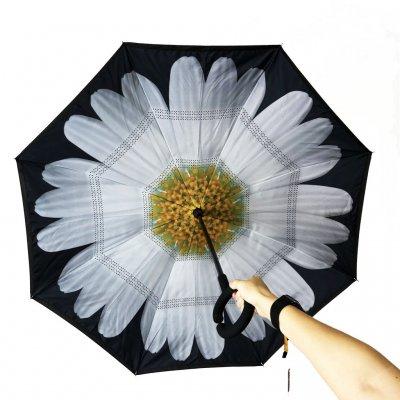 Зонт Наоборот Up-brella - Зонт Обратного Сложения
