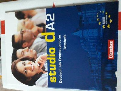 """Studio d A2 Testvorbereitungsheft und Modelltest """"Start Deutsch 2"""" mit CD"""