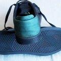 Туфли мужские стильные кожанные со вставками, 41-й размер