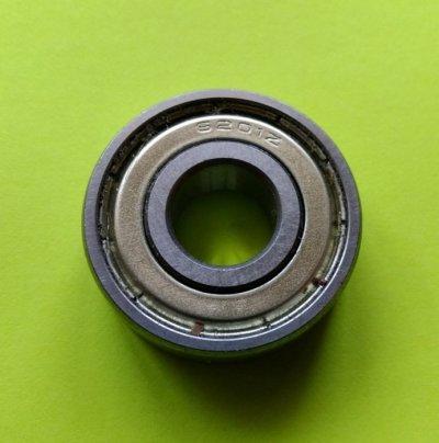 Шариковый радиальный закрытый подшипник 6201Z 12x32x10мм