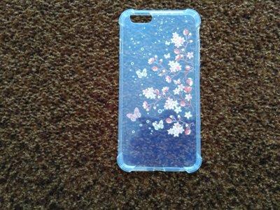 Чехол Бампер на iphone 6plus Цветочки