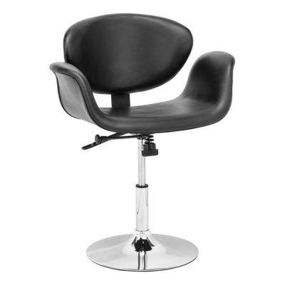 Кресло на блине Студио для кафе, черный