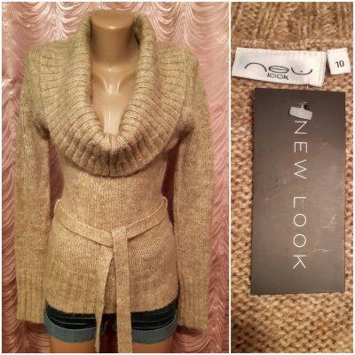 Джемпер,свитер,кардиган,жакет из мохера.New Look.44 размер.