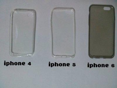 Чехол Бампер силиконовые прозрачные на iphone 4.5.6