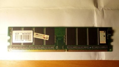 Оперативная память NCP, NC00367, DDR 512MB PC3200