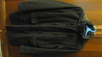 Мужское зимнее пальто дафлкот верблюжья шерсть Jules FR реставрация нужна