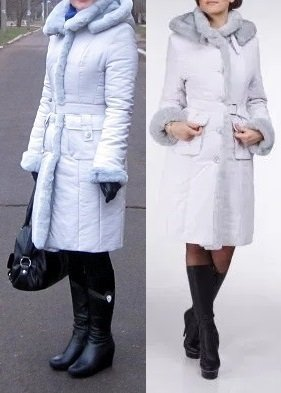 Пальто зимнее victoria bloom пуховик