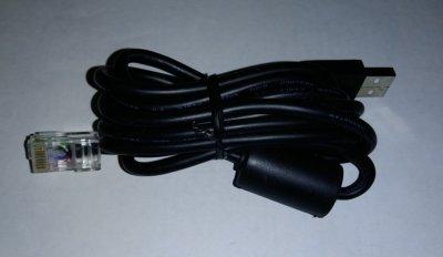 Кабель 2m с ферритом интерфейсный для ИБП APC USB-RJ45