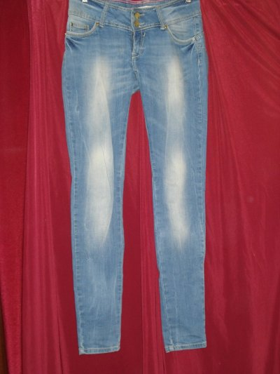 Джинсы женские голубого цвета Tally Weijl, 44/S размер-size