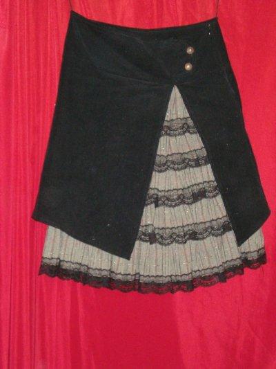 Юбка с подкладкой (двойная) 42-44/S размер-size