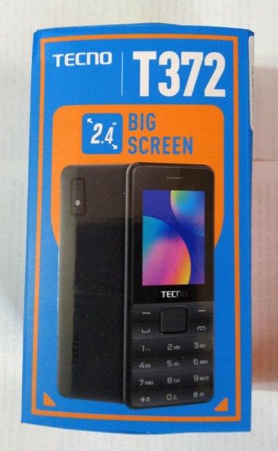 """3-sim мобильник Tecno T372 2.4""""(320х240), 0.3Мп, Bluetooth, 1150 мАч, золотистый"""