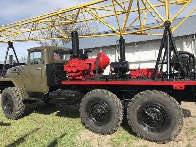 Буровая установка УРБ 2.5 А на базе Зила 131 с инструментом полный комплект