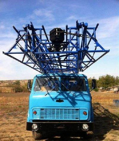 Буровая установка УРБ-3АМ на базе Маза 500