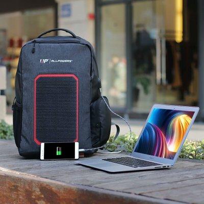 Рюкзак с солнечной панелью Allpowers 7 Watt (6000 Mah)
