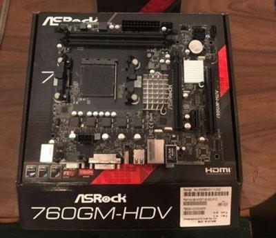 Материнская плата ASRock 760GM-HDV Socket AM3+