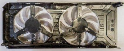 Вентилятор для видеокарт Palit 1060 двойной