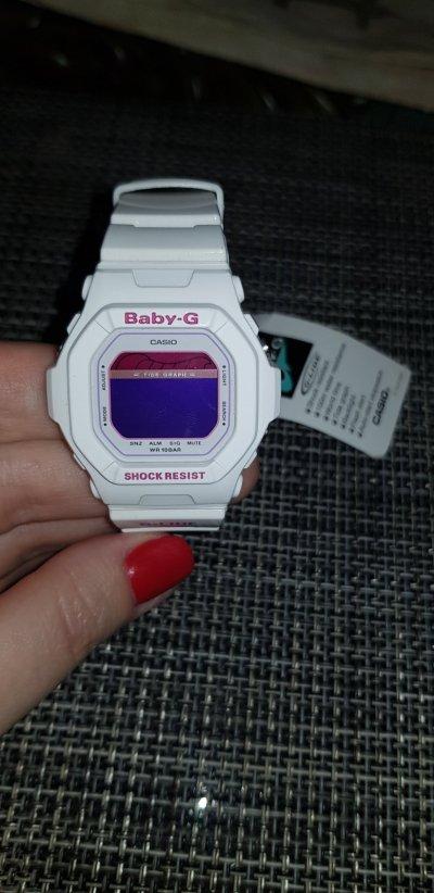 Часы Shock resistant Casio Baby-G BLX-5600-7DR