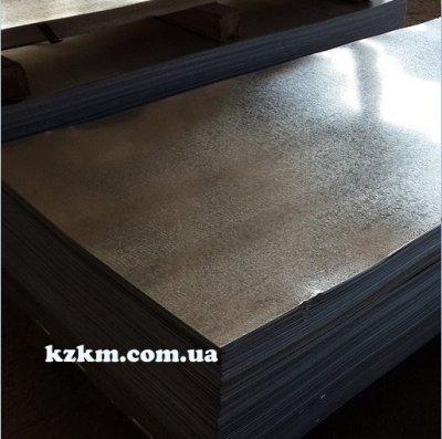 Лист оцинкованный гладкий 0,70 мм, цена Киев, оцинковка, рулон бляха цинк