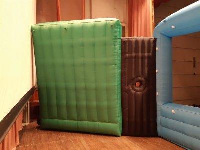 Надувные туннели c подсветкой inflatable tunnel
