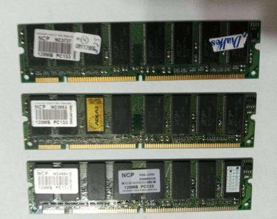 Оперативная память SDRAM DIMM 128Mb PC133 NCP