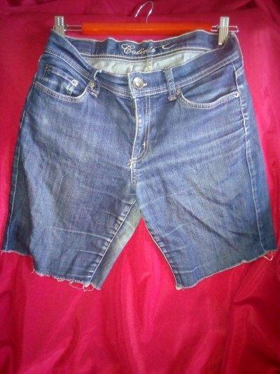 Купить джинсовые шорты женские 44/S размера